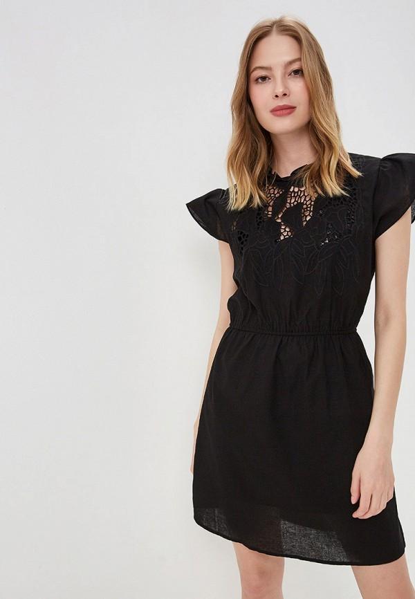 женское повседневные платье care of you, черное