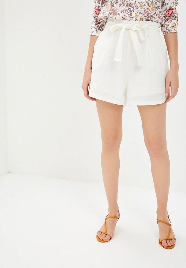 женские повседневные шорты care of you, белые