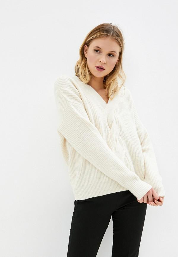 женский пуловер care of you, бежевый