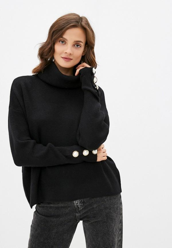 женский свитер care of you, черный