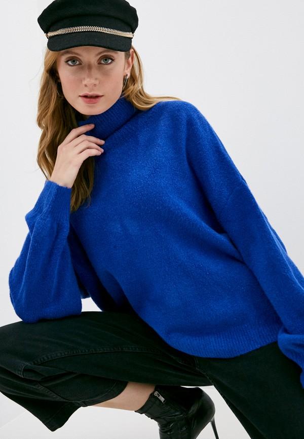 женский свитер care of you, синий