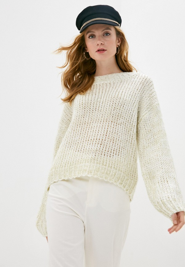 женский свитер care of you, белый