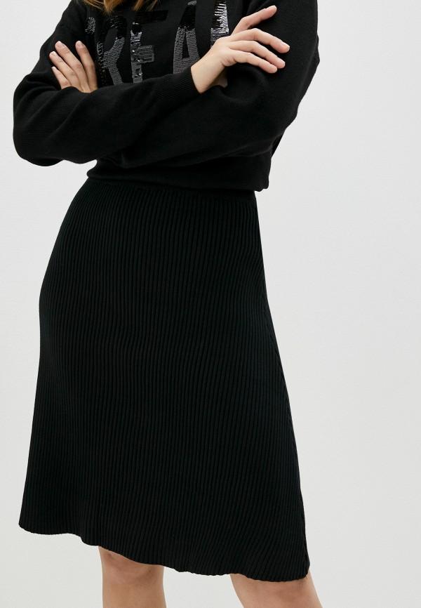 женская юбка care of you, черная