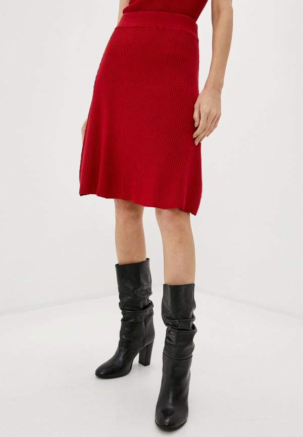 женская юбка care of you, красная