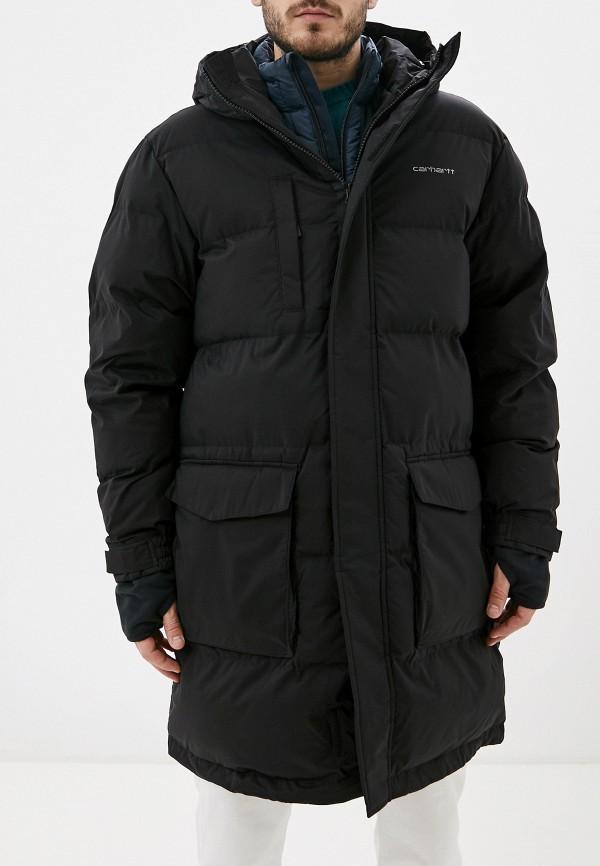мужская утепленные куртка carhartt, черная