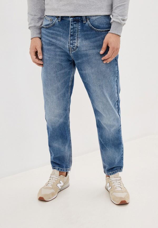 мужские зауженные джинсы carhartt, синие