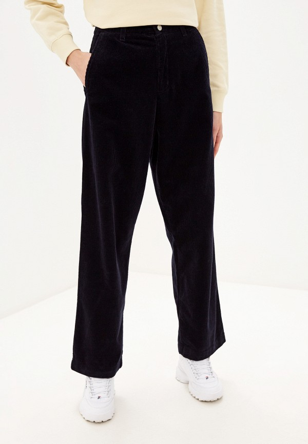 женские повседневные брюки carhartt, синие