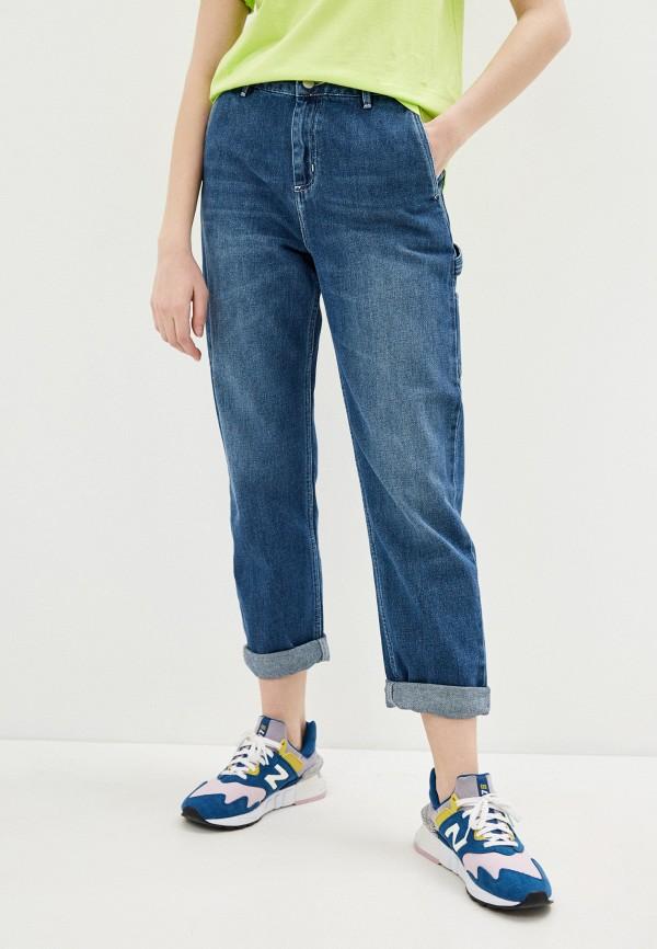 женские джинсы бойфренд carhartt, синие