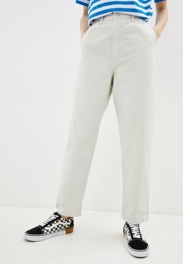женские прямые джинсы carhartt, белые