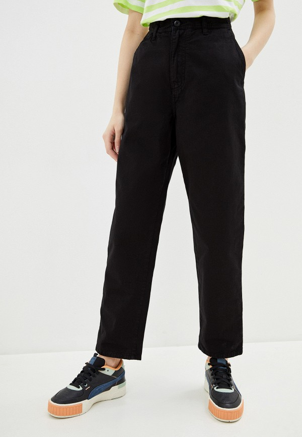 женские повседневные брюки carhartt, черные