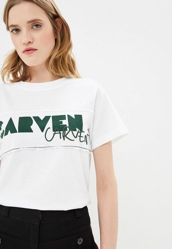 Футболка Carven Carven CA095EWCEZM6 carven футболка