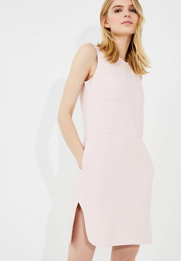 женское повседневные платье carven, розовое