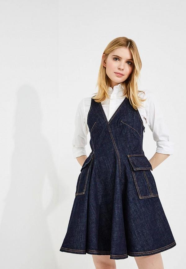 Платье джинсовое Carven Carven CA095EWYOW32
