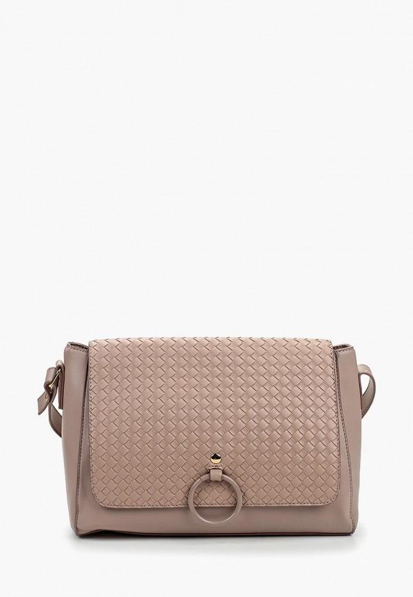 женская сумка camomilla italia, розовая
