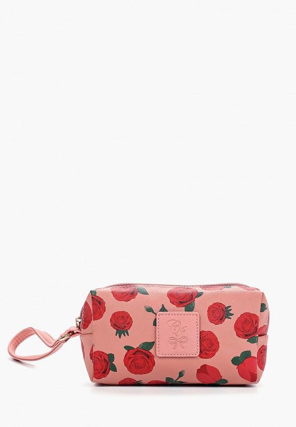 женская косметичка camomilla italia, розовая