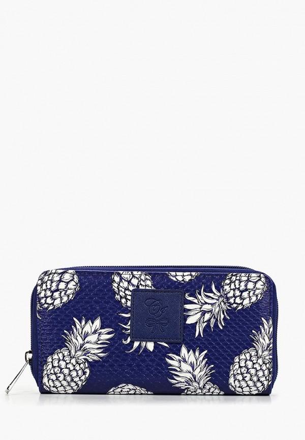 женский кошелёк camomilla italia, синий