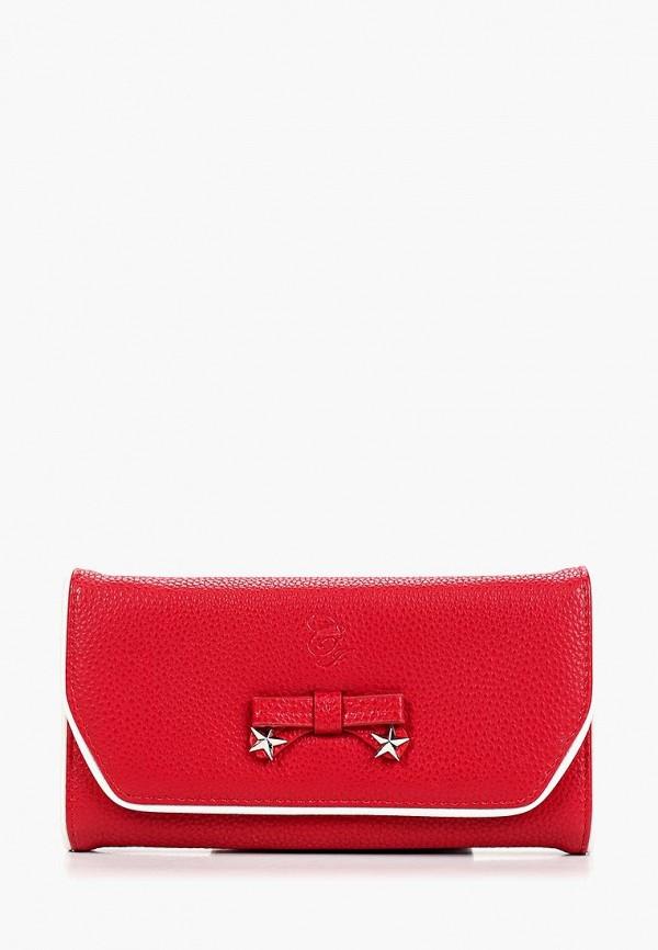 женский кошелёк camomilla italia, красный