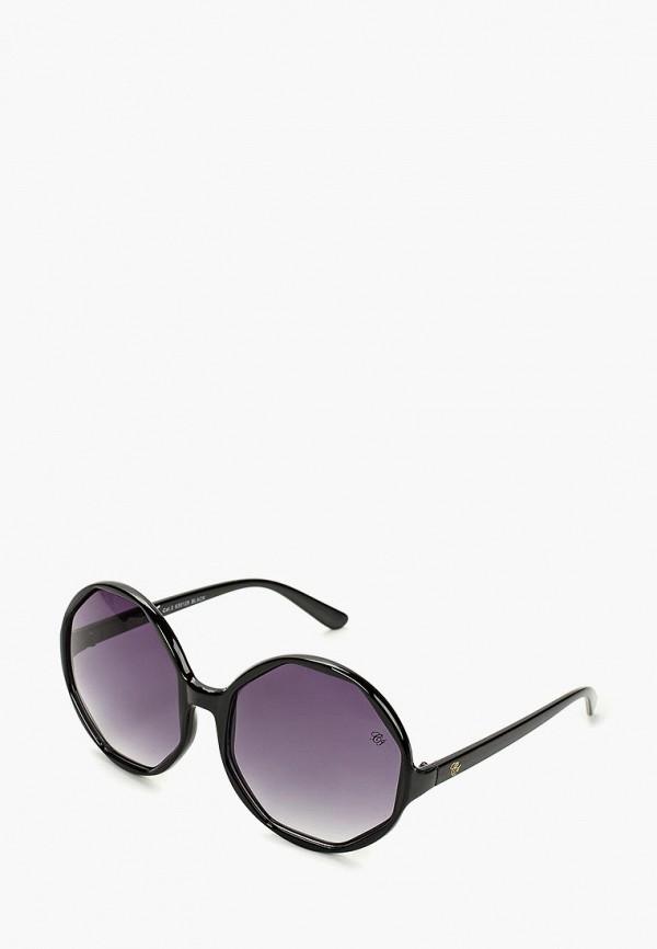 женские солнцезащитные очки camomilla italia, черные