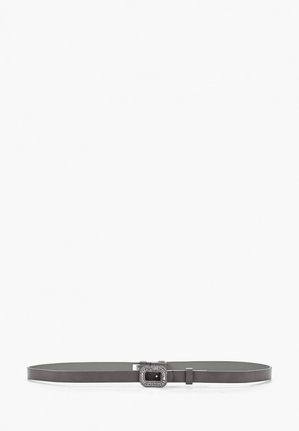 женский ремень camomilla italia, серый