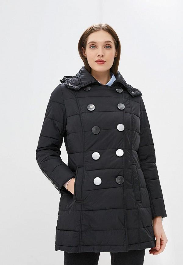 женская куртка camomilla italia, черная
