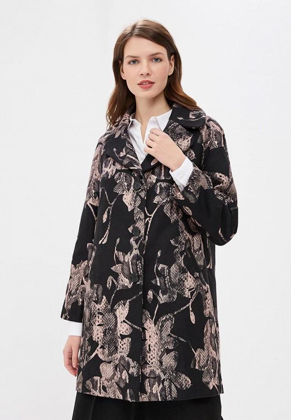 женское пальто camomilla italia, черное