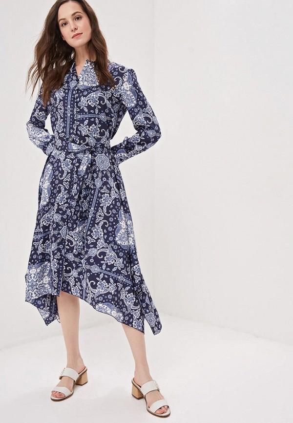 женское повседневные платье camomilla italia, синее