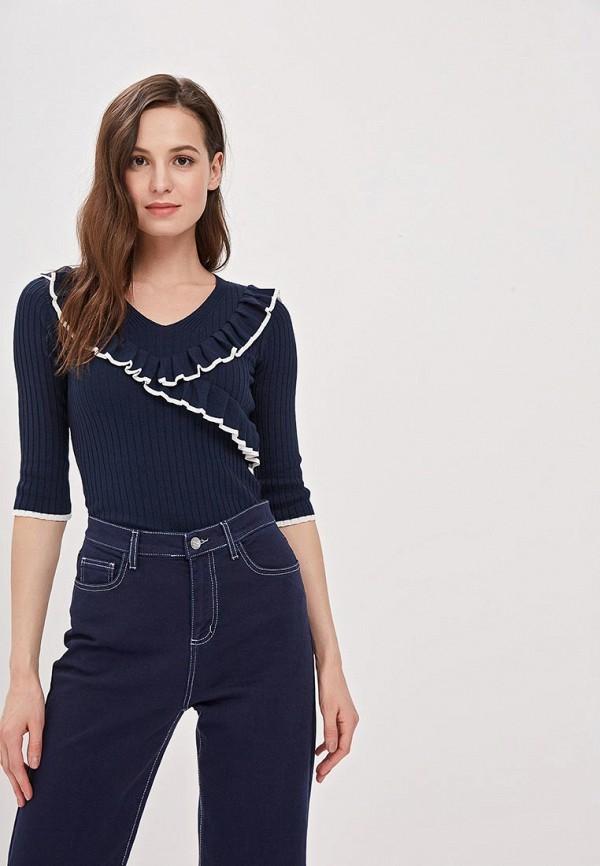 женский пуловер camomilla italia, синий