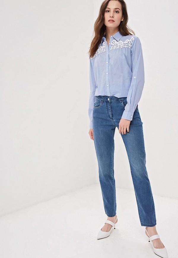 Фото 2 - женские джинсы Camomilla Italia голубого цвета