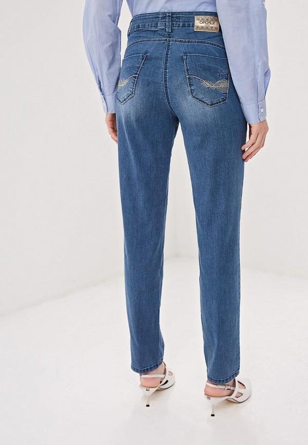 Фото 3 - женские джинсы Camomilla Italia голубого цвета