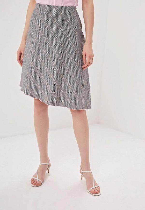 женская юбка camomilla italia, серая