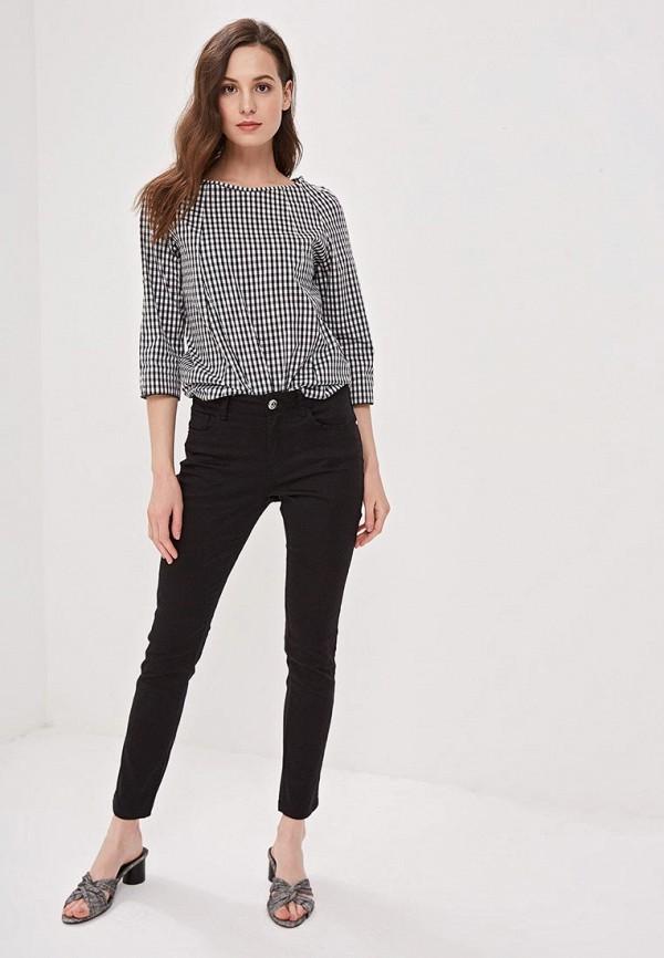 Фото 2 - женские брюки Camomilla Italia черного цвета