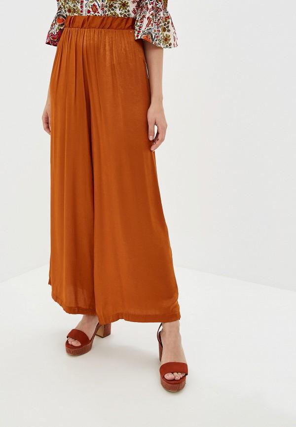 женские повседневные брюки camomilla italia, коричневые