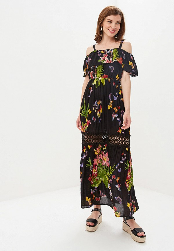 женское платье camomilla italia, черное