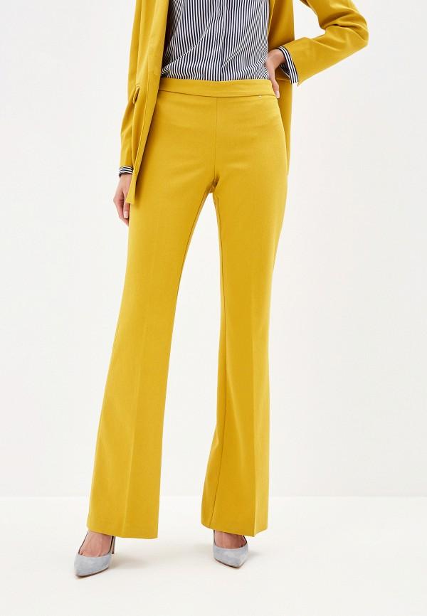 женские классические брюки camomilla italia, желтые