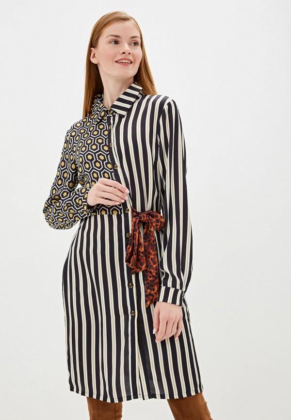 женское платье camomilla italia, разноцветное