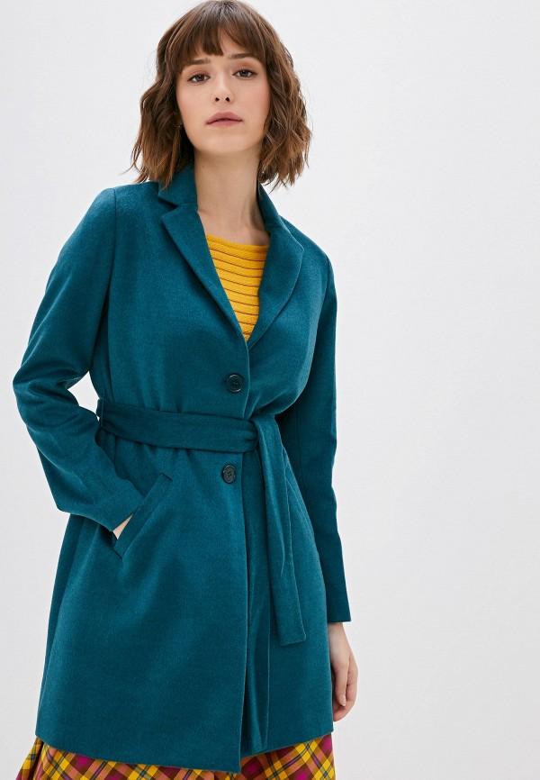 женское пальто camomilla italia, зеленое