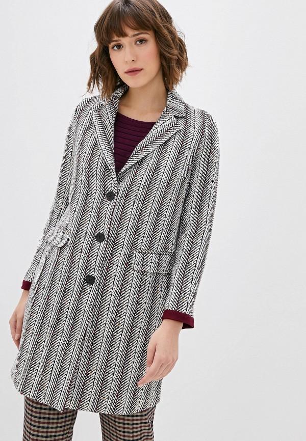 женское пальто camomilla italia, бежевое
