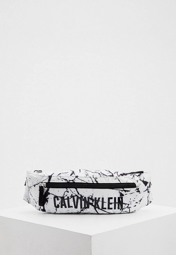 женская поясные сумка calvin klein, белая