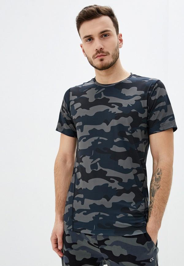 мужская футболка calvin klein, серая