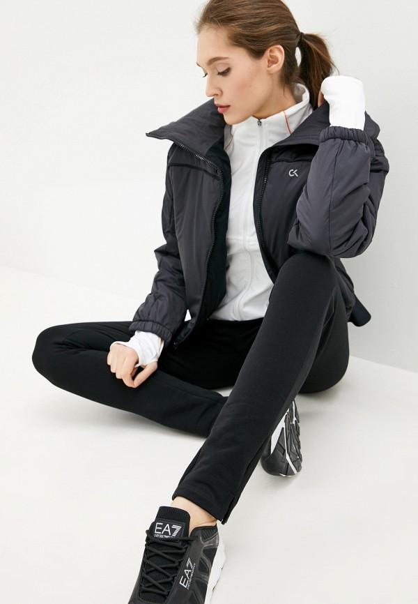 женская куртка calvin klein, черная
