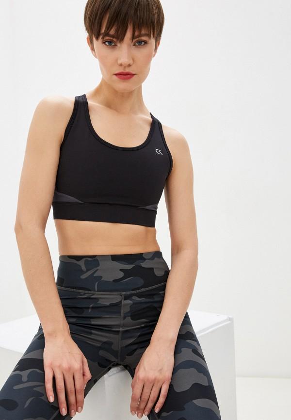 женский спортивный костюм calvin klein, черный