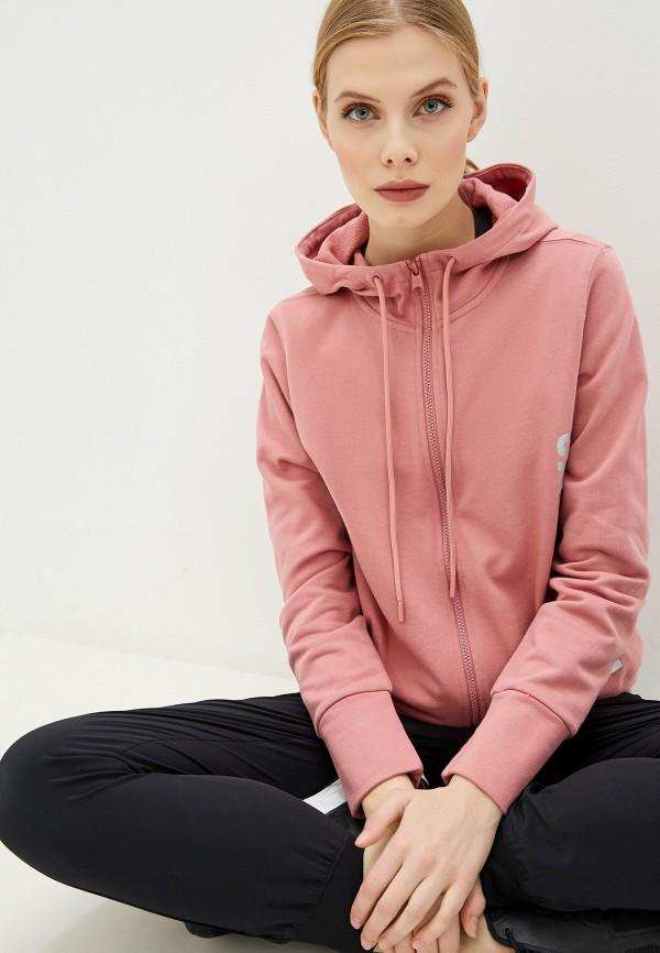 женская толстовка calvin klein, розовая
