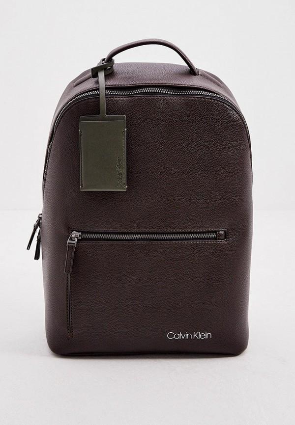 мужской рюкзак calvin klein, коричневый