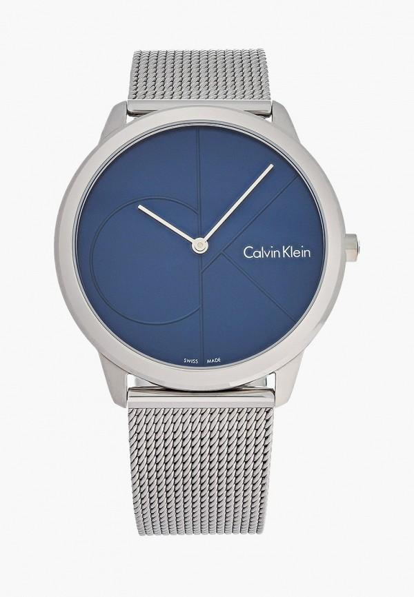 мужские часы calvin klein, синие