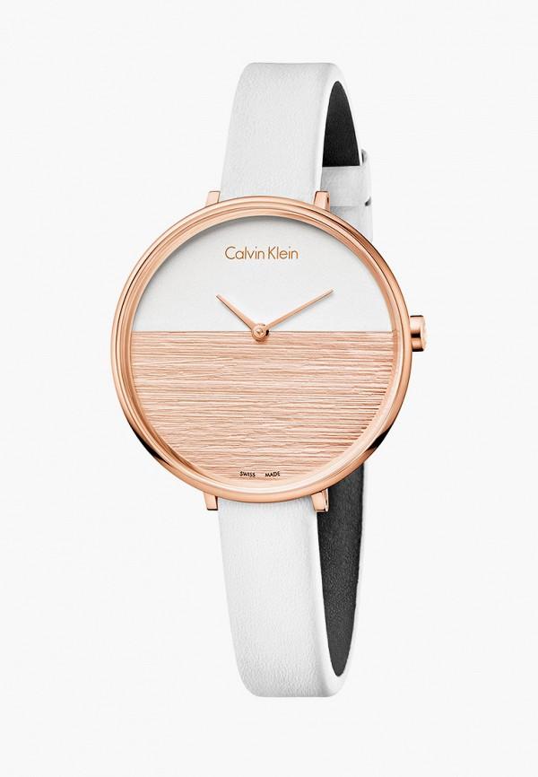 женские часы calvin klein, белые