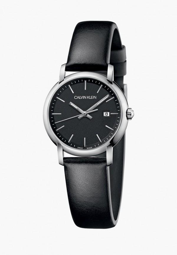 женские часы calvin klein, черные