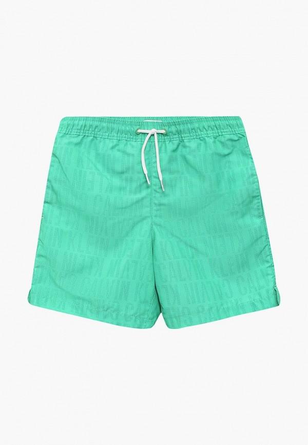 Купить Шорты для плавания Calvin Klein, ca105ebblic7, зеленый, Весна-лето 2018