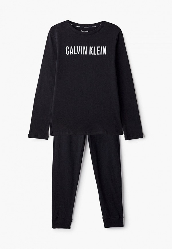 пижама calvin klein для мальчика, черная