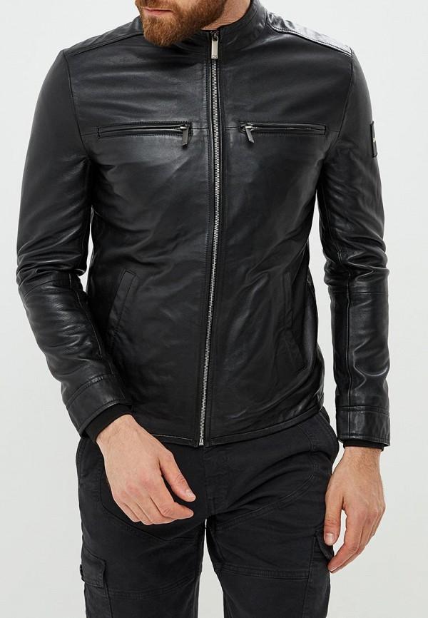 Купить Куртка кожаная Calvin Klein, CA105EMCOJS8, черный, Осень-зима 2018/2019