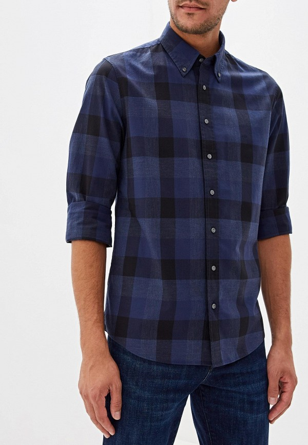 Фото - Рубашку Calvin Klein синего цвета